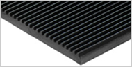 Fluted Rubber Matting