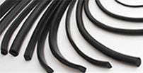 Rubber extrusion U channel and seals