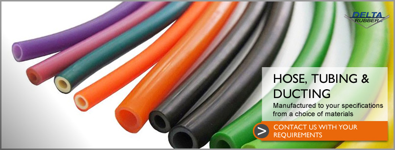Hose, tubing and ducting for a range of applications made from a choice of materials to your specifications.