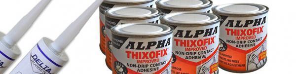 Adhesives, Contact Adhesives and Sealants