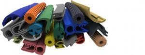 Silicone extrusions and Silicone seals